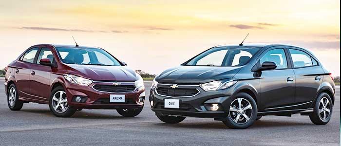 General Motors presenta sus nuevos modelos Chevrolet Onix y Chevrolet Prisma