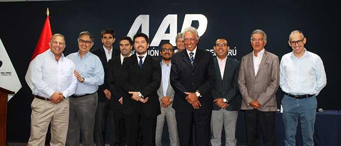 Asociación Automotriz del Perú elige nuevo Consejo Directivo para el periodo 2017-2019