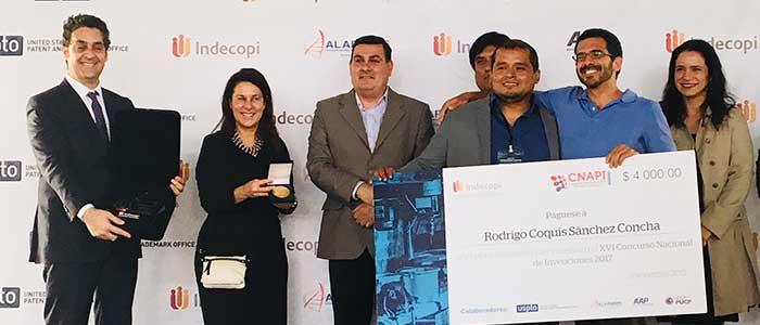 Dispositivo que permite el ahorro de combustible en automóviles gana primer lugar del XVI Concurso Nacional de Invenciones 2017