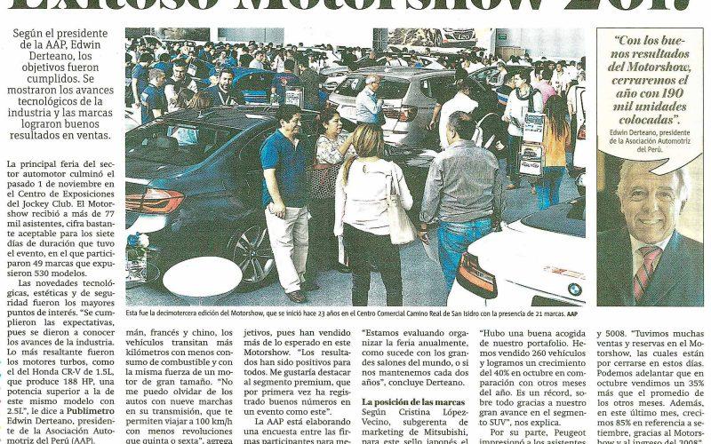 Exitoso Motorshow 2017