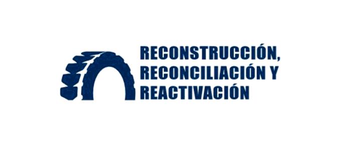Reconstrucción, reconciliación y reactivación.