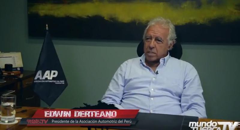 Entrevista sobre el alza del ISC a Edwin Derteano, Presidente de la AAP.