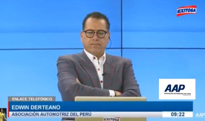 Entrevista al presidente de la AAP, Edwin Derteano respecto al alza del ISC