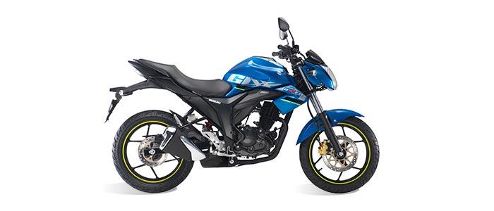 La moto deportiva de Suzuki se renueva: Gixxer 2019