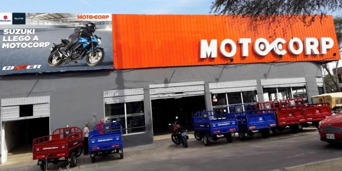 Motocorp y Suzuki Motocicletas inician importante alianza comercial