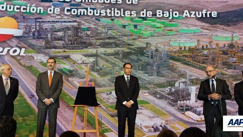 Asociación Automotriz del Perú saluda inauguración de nueva planta de Repsol