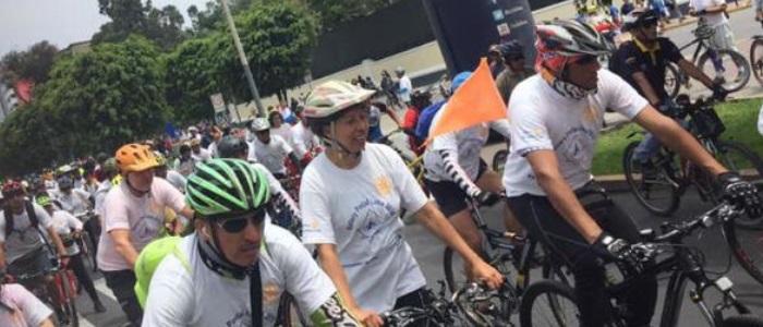 """Transitemos impulsó campaña de educación vial """"Respeta al ciclista"""""""