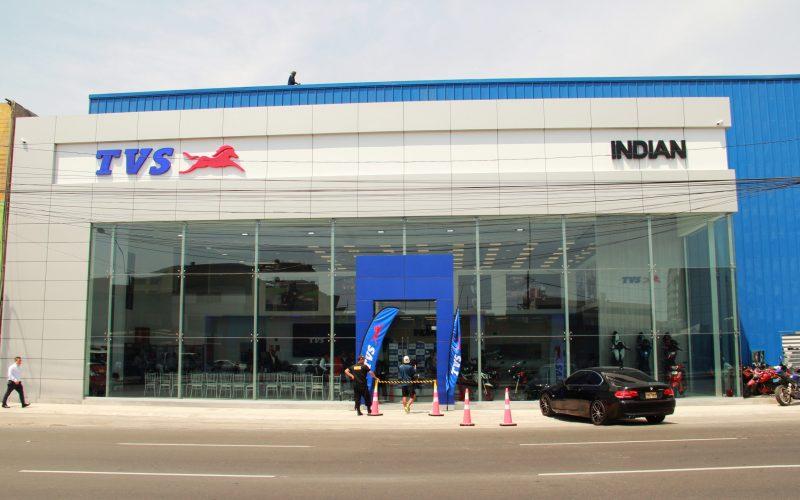 TVS y distribuidor Indian Motos abren showroom en Lima