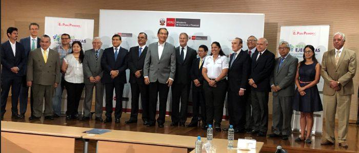 Asociación Automotriz del Perú y Transitemos presentes en instalación de Mesa ejecutiva de tránsito