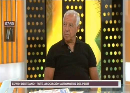 Presidente de la AAP en Canal N sobre propuesta de Miraflores contra motociclistas