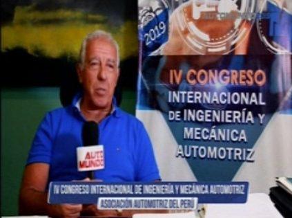 Presidente de la AAP presenta Congreso de Ingeniería y Mecánica Automotriz