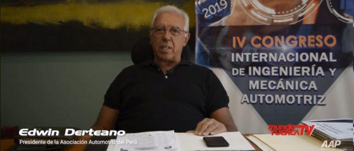 Mundo Tuerca entrevista a Edwin Derteano sobre el Congreso de Ingeniería y Mecánica Automotriz