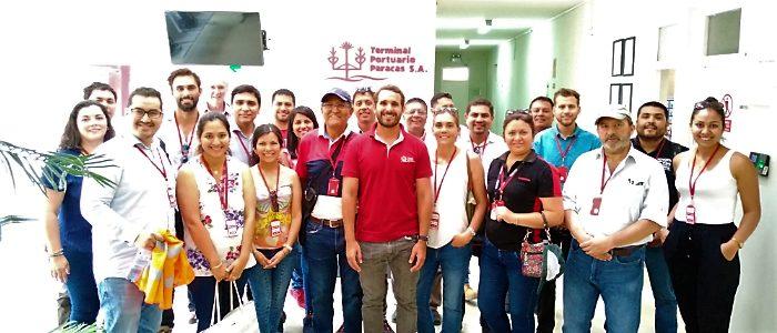 Comité de puertos de la AAP visita Terminal Portuario Paracas