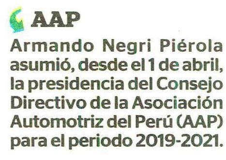 AAP elige nuevo presidente