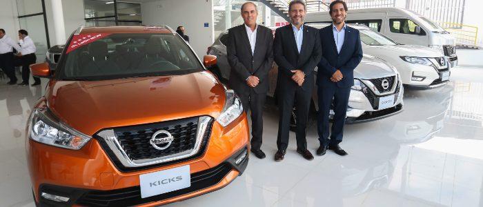 Nissan da la bienvenida a nuevo concesionario Incamotors en Arequipa