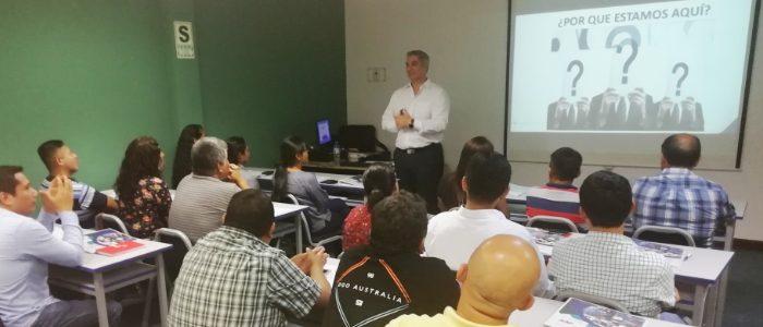 Taller In-House dictó el Centro de Capacitación para Perú Masivo