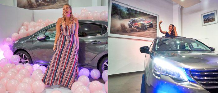 Peugeot presenta a Diana Ibarra y Jeani Jaramillo como nuevas embajadoras