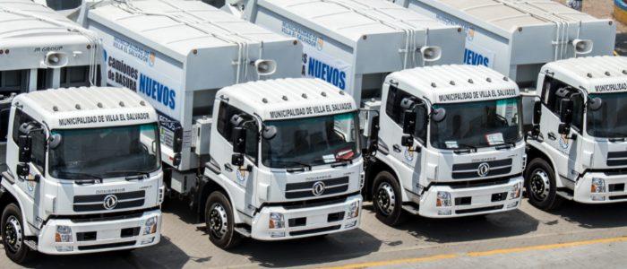 Dongfeng entrega camiones y tractos a GNV a Villa El Salvador