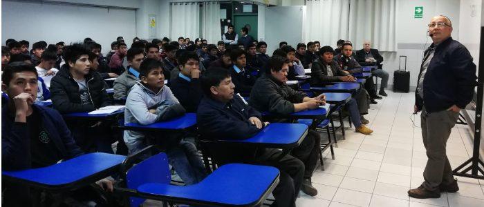 Centro de Capacitación de la AAP dictó taller de mecánica en SENATI Cusco