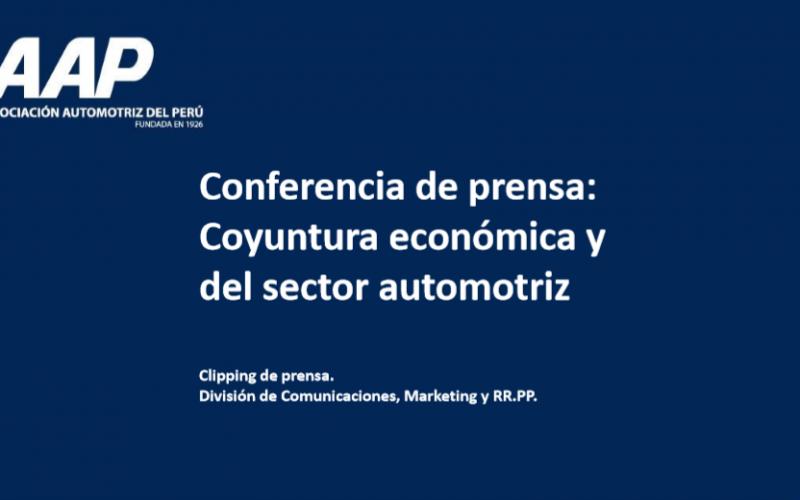 Alcance en medios de la conferencia de la AAP sobre perspectivas económicas