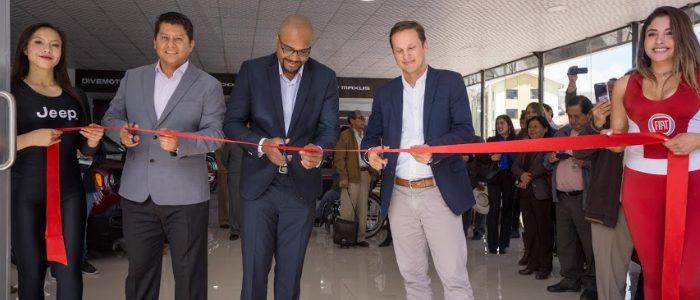Divemotor inaugura primer concesionario FCA en Cusco