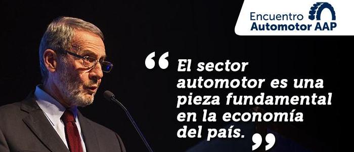 Armando Negri: El sector automotor es una pieza fundamental de la economía