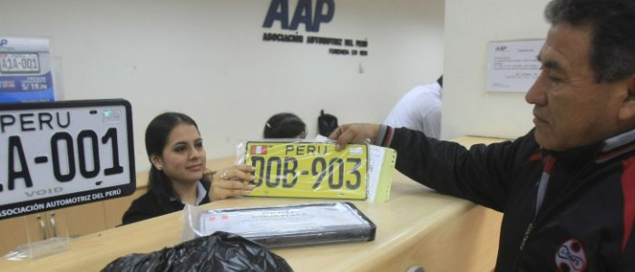 Comunicado AAP sobre entrega de placas