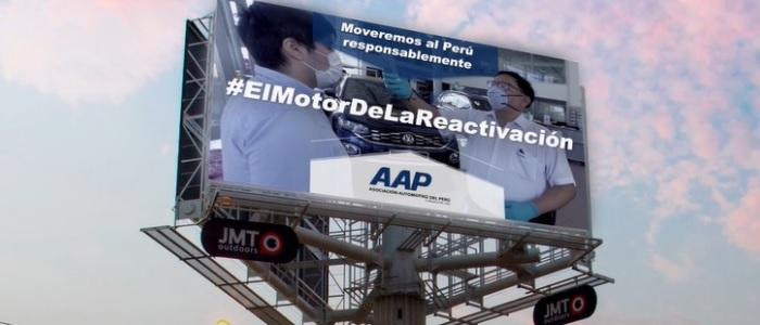 Asociación Automotriz del Perú y JMT Outdoors lanzan campaña para destacar importancia del transporte