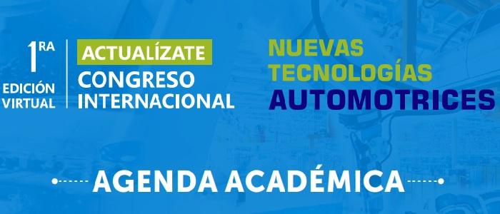 Primera edición virtual del Congreso Internacional de Nuevas Tecnologías Automotrices se realizará este 25 de agosto