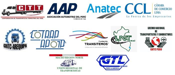 Comunicado: Gremios rechazan legalización de taxis colectivos para transporte interprovincial