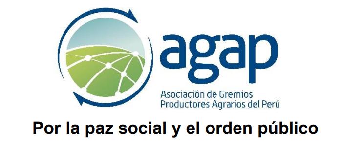 AGAP: Por la paz social y el orden público
