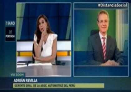Adrián Revilla comenta sobre la informalidad en el transporte público